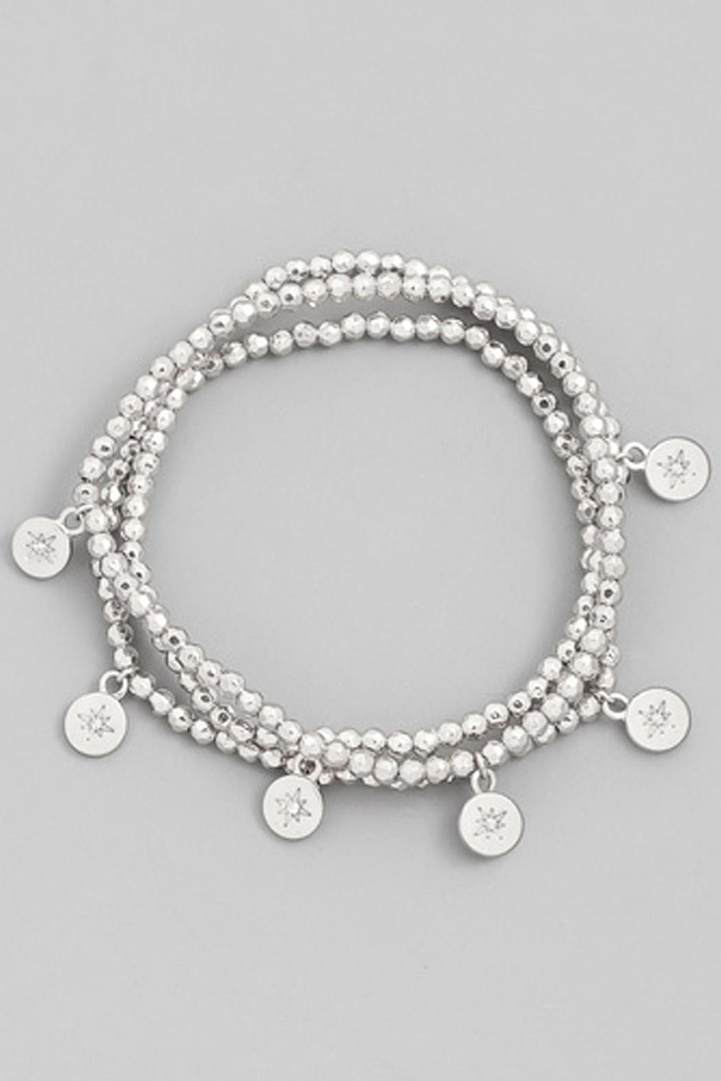 Wild Lilies Jewelry  Silver Bracelet Set - Front Cropped Image