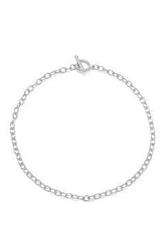 Wild Lilies Jewelry  Silver Chain Choker - Product List Image
