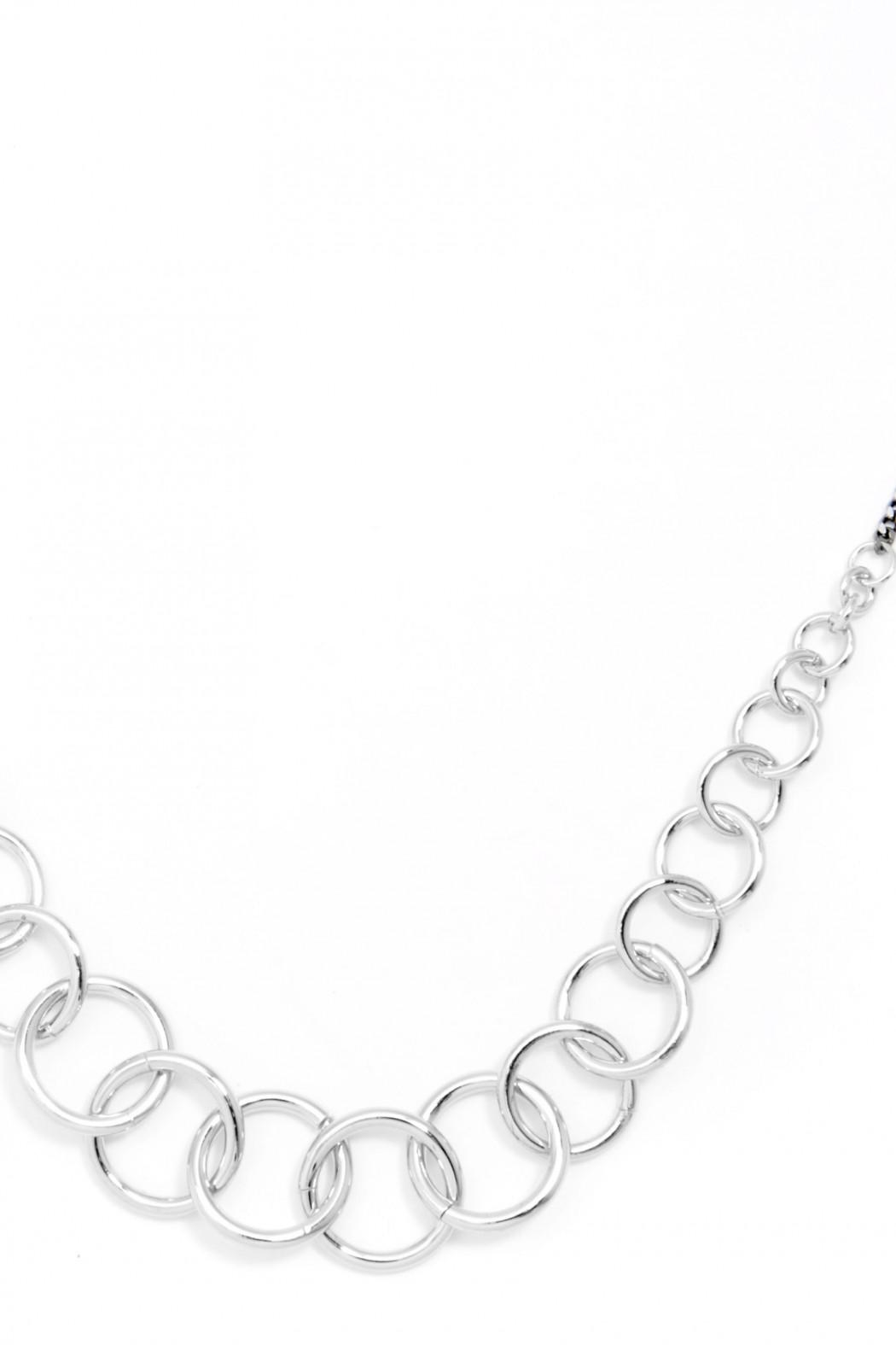 Wild Lilies Jewelry  Silver Chain Necklace - Front Full Image