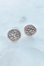 Wild Lilies Jewelry  Silver Crystal Studs - Product Mini Image