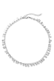 Wild Lilies Jewelry  Silver Disc Choker - Product Mini Image