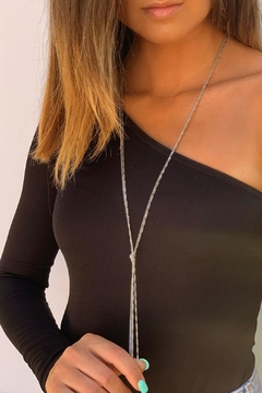 Wild Lilies Jewelry  Silver Knot Lariat - Product List Image