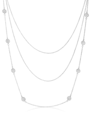 Wild Lilies Jewelry  Silver Layered Necklace - Product Mini Image