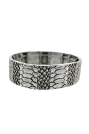 Wild Lilies Jewelry  Silver Snake Bracelet - Front cropped