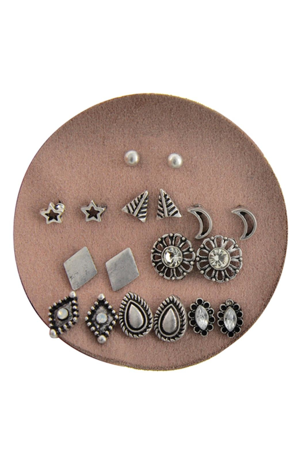 Wild Lilies Jewelry  Silver Stud Pack - Main Image