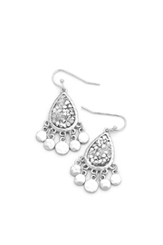 Wild Lilies Jewelry  Silver Teardrop Earrings - Product Mini Image