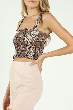 Wild Lilies Jewelry  Smocked Crop Top - Product List Image