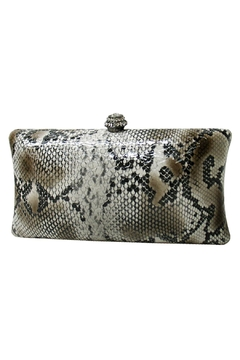 Shoptiques Product: Snakeskin Box Clutch