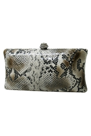 Wild Lilies Jewelry  Snakeskin Box Clutch - Product Mini Image