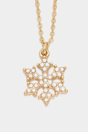 Wild Lilies Jewelry  Snowflake Pendant Necklace - Product Mini Image