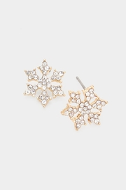 Wild Lilies Jewelry  Snowflake Stud Earrings - Product Mini Image