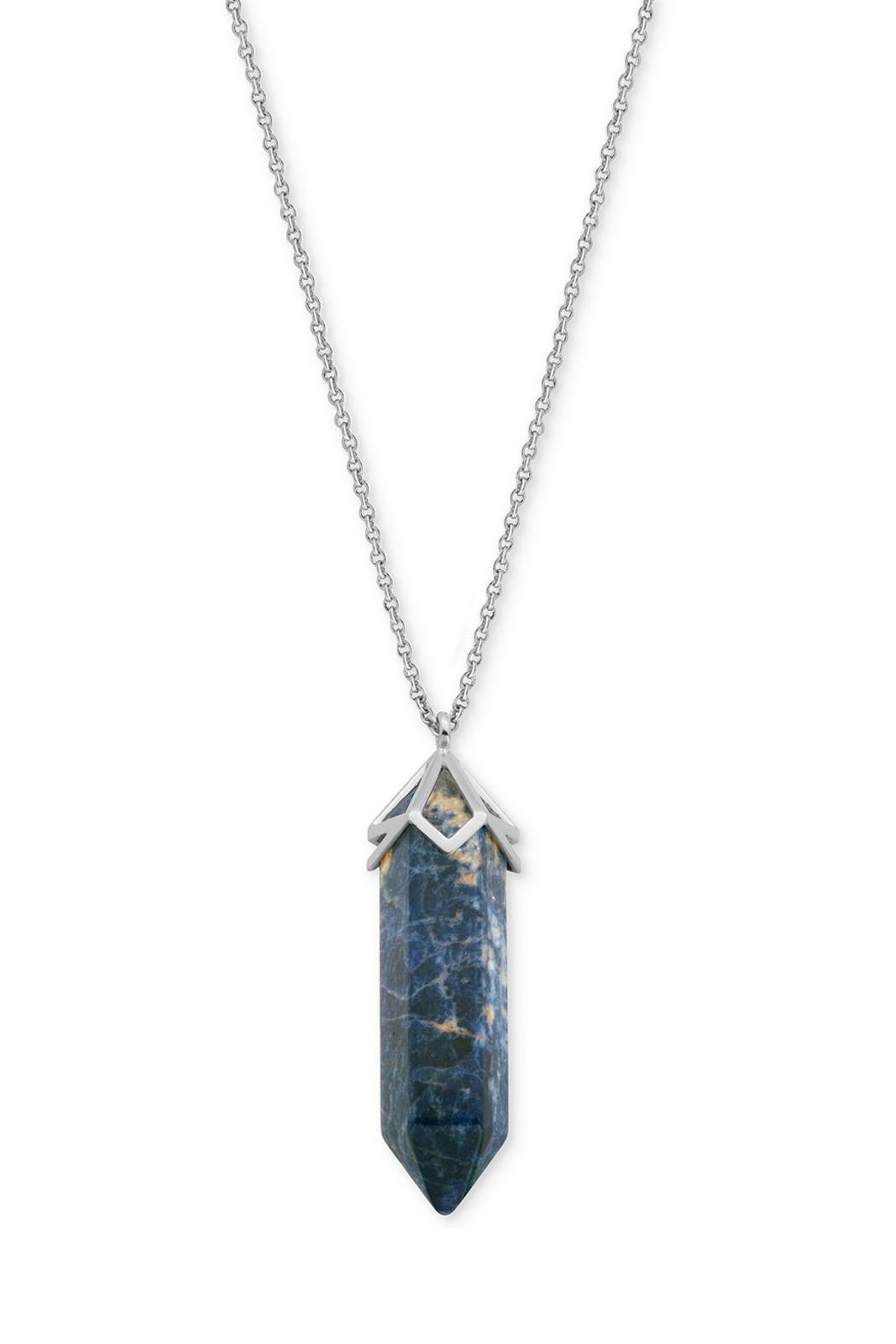 Wild Lilies Jewelry  Sodalite Pendant Necklace - Main Image