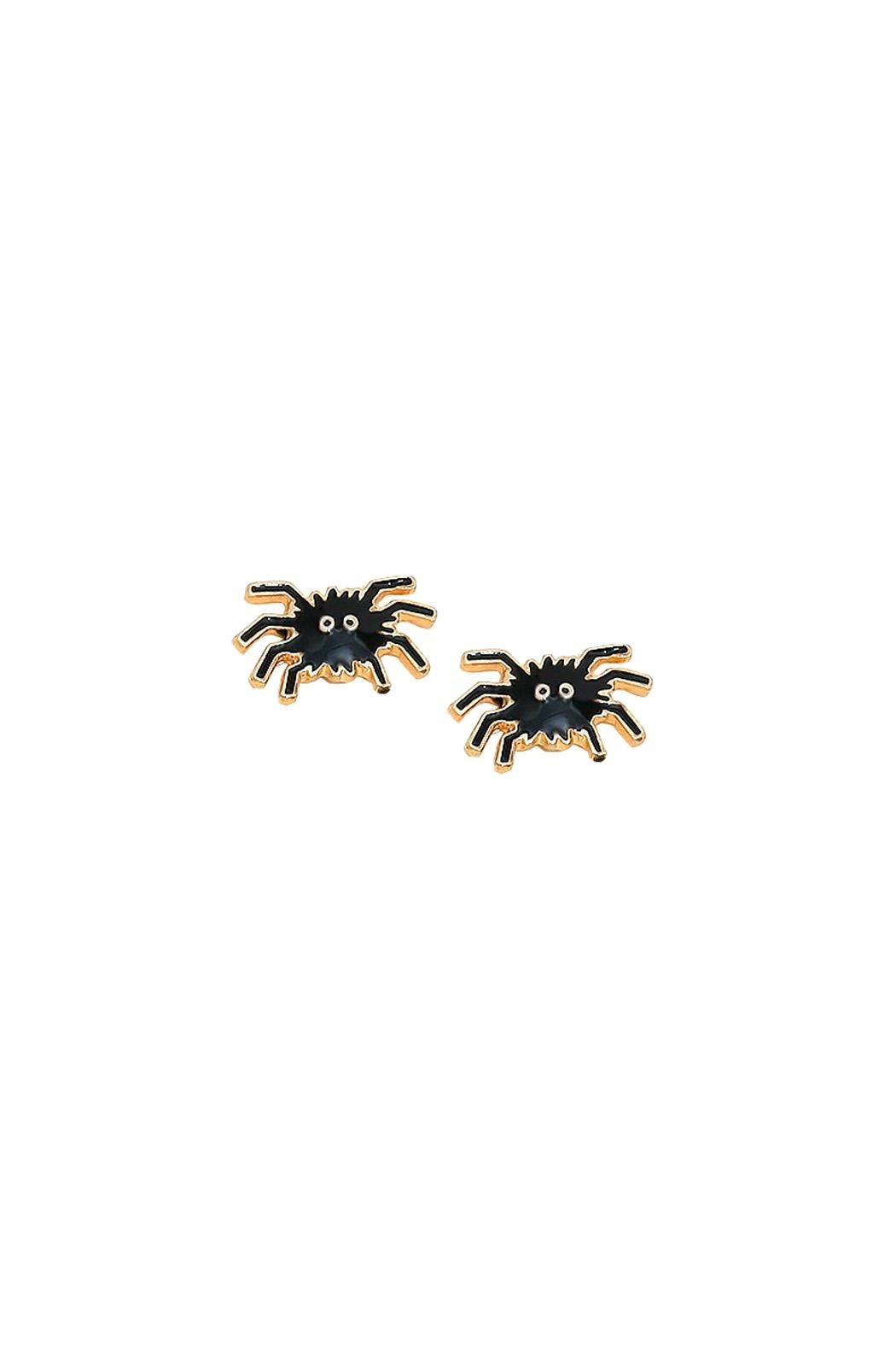 Wild Lilies Jewelry  Spider Stud Earrings - Main Image