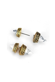 Wild Lilies Jewelry  Spike Double Studs - Product Mini Image