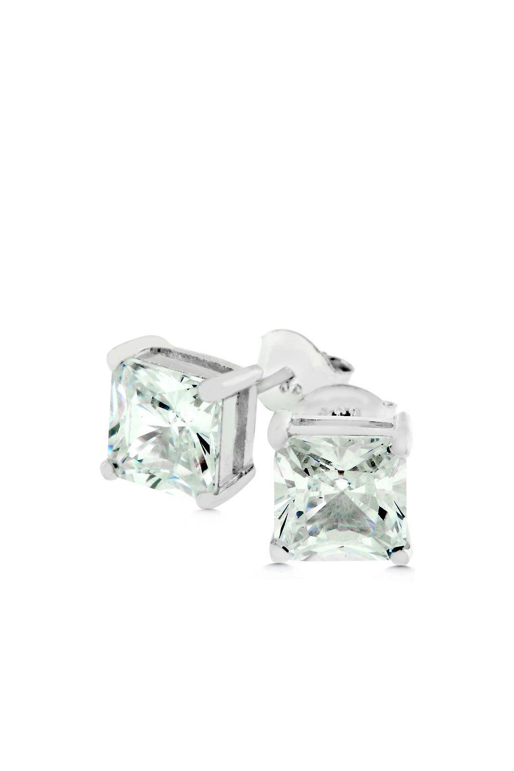 Wild Lilies Jewelry  Square Cz Earrings - Main Image