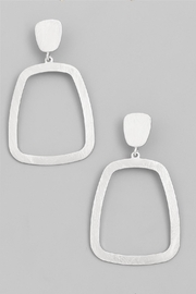 Wild Lilies Jewelry  Square Hoop Earrings - Product Mini Image