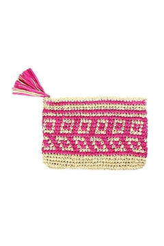 Shoptiques Product: Square Straw Clutch
