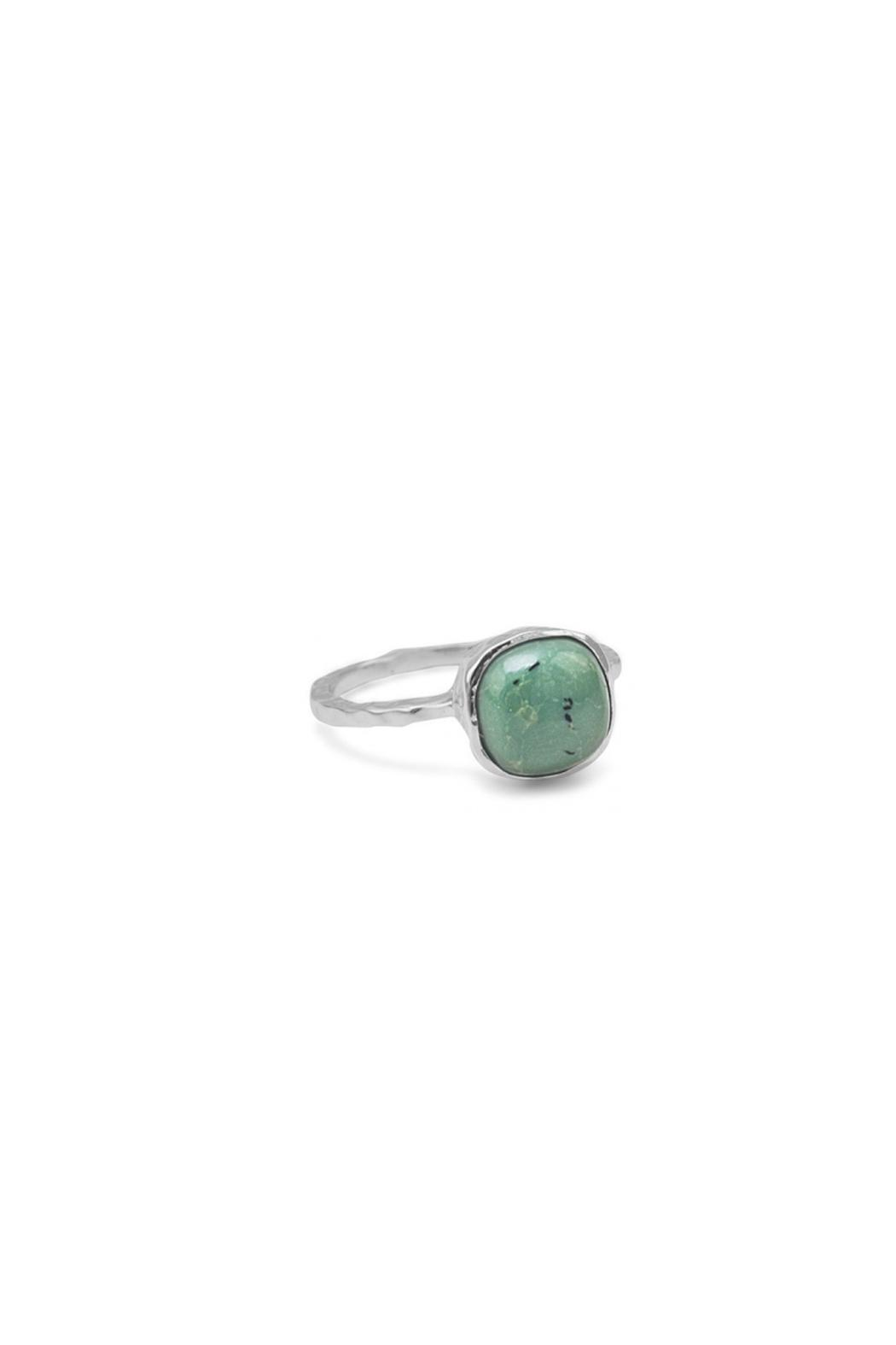 Wild Lilies Jewelry  Square Turquoise Ring - Main Image