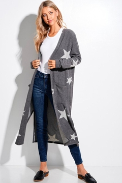 Wild Lilies Jewelry  Star Long Cardigan - Product List Image