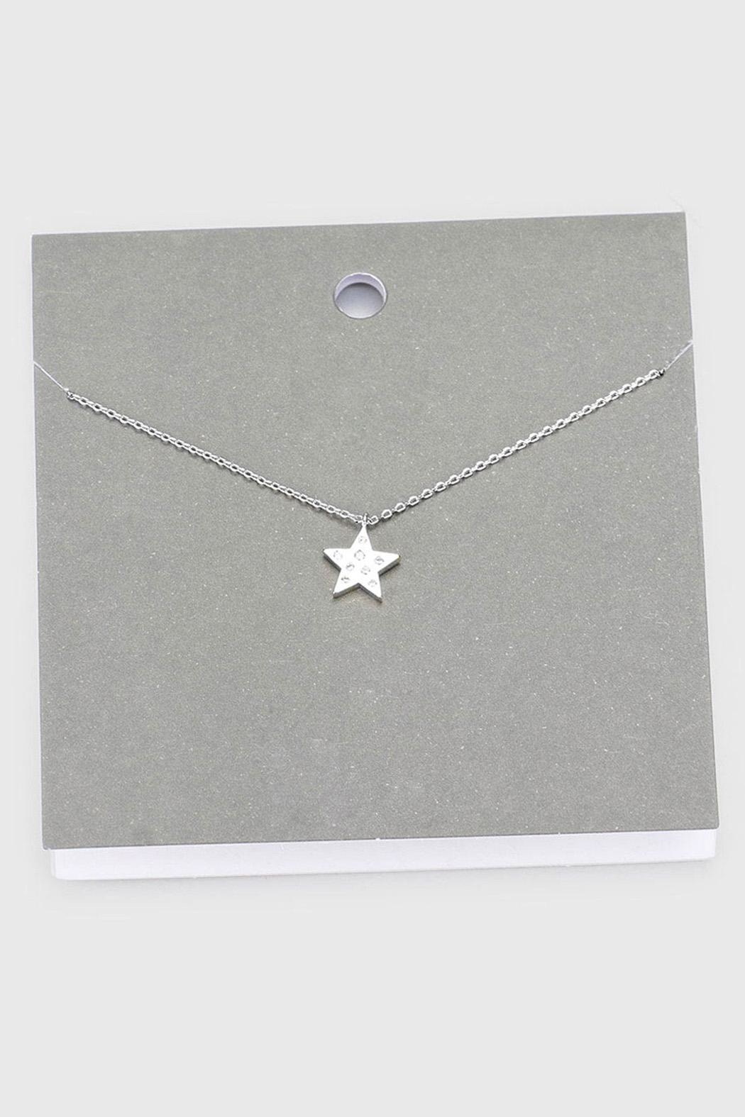 Wild Lilies Jewelry  Star Pendant Necklace - Main Image
