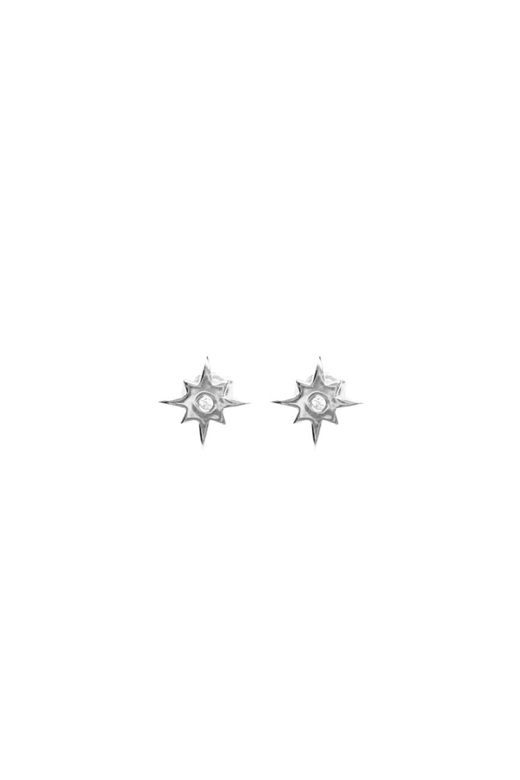 Wild Lilies Jewelry  Star Stud Earrings - Main Image