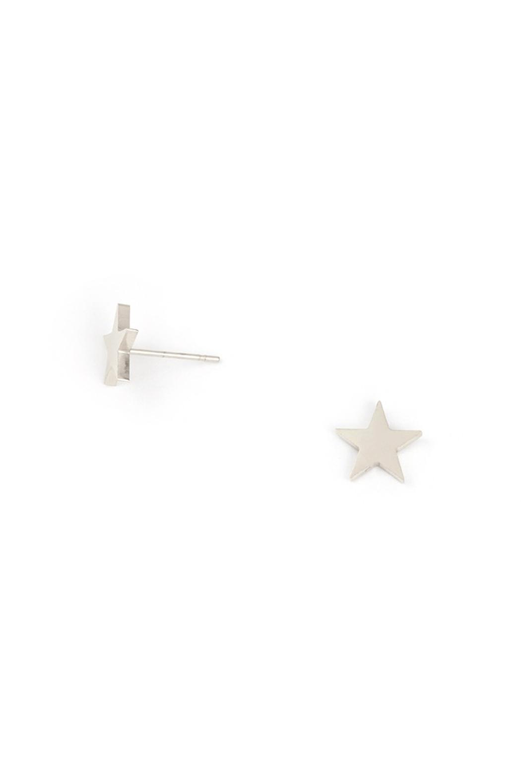 Wild Lilies Jewelry  Star Stud Earrings - Front Cropped Image