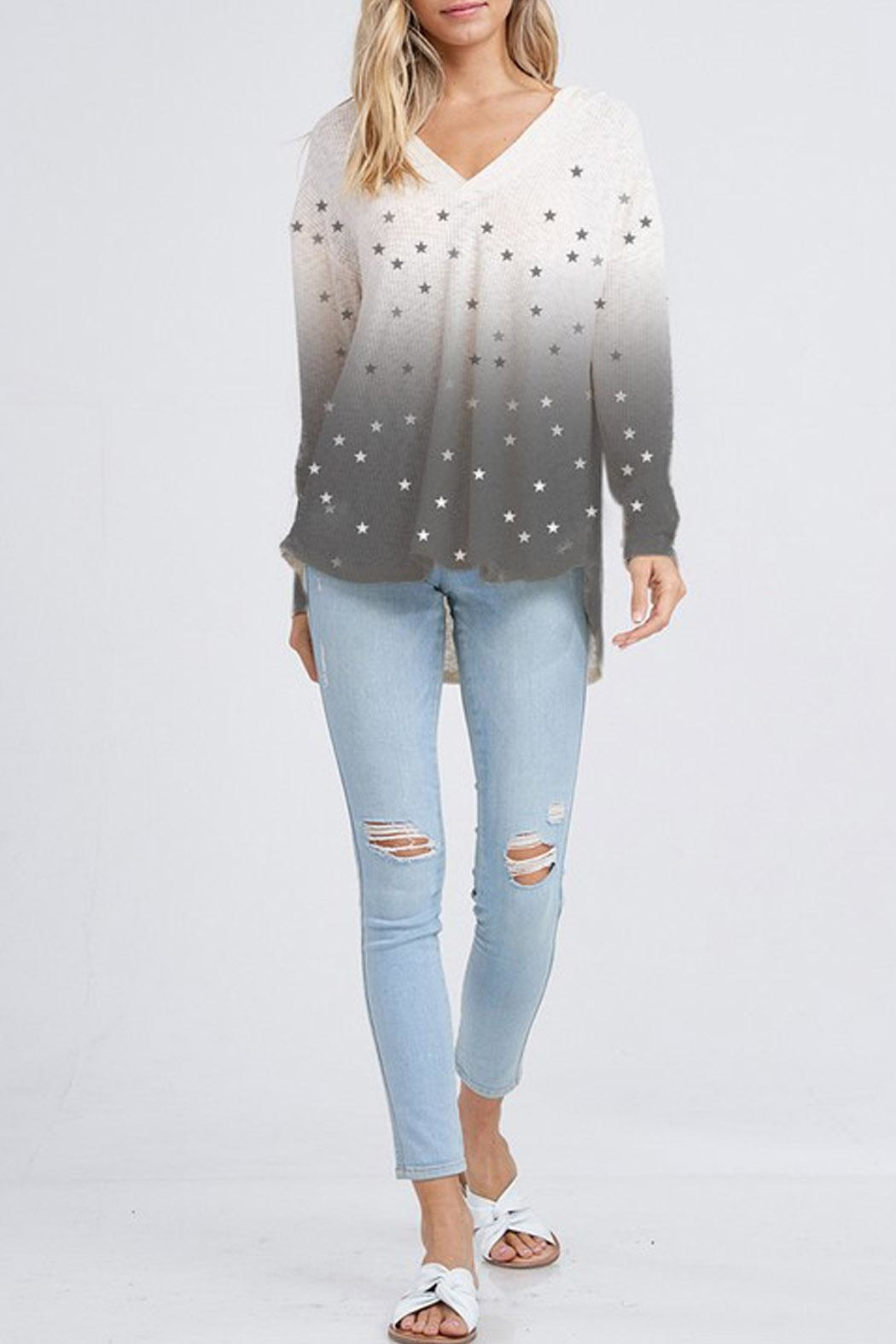 Wild Lilies Jewelry  Star Thermal Hoodie - Side Cropped Image