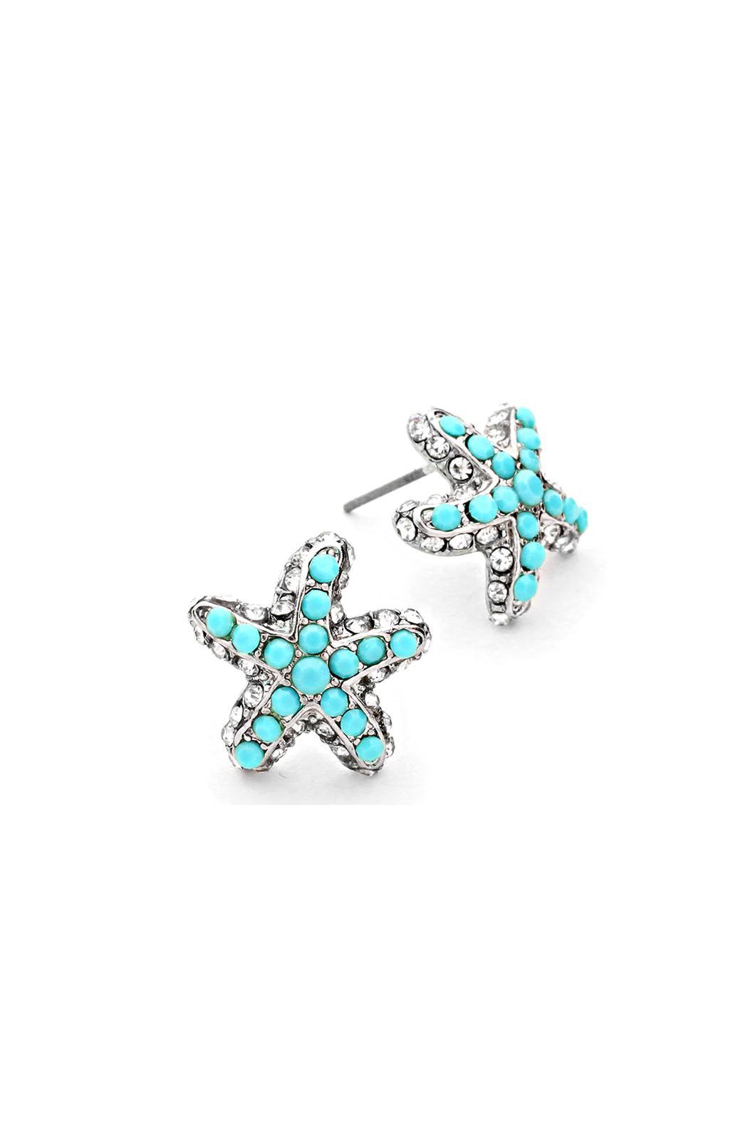 Wild Lilies Jewelry  Starfish Stud Earrings - Front Cropped Image