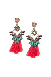 Wild Lilies Jewelry  Statement Tassel Earrings - Product Mini Image