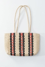 Wild Lilies Jewelry  Straw Woven Bag - Product Mini Image
