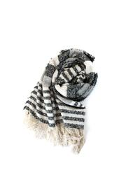 Wild Lilies Jewelry  Striped Fringe Scarf - Product Mini Image