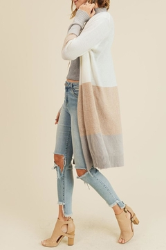 Wild Lilies Jewelry  Striped Long Cardigan - Product List Image