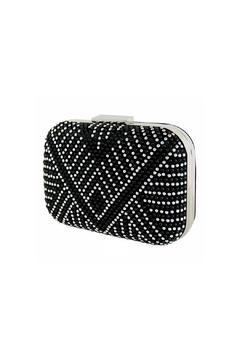 Wild Lilies Jewelry  Studded Silver Clutch - Product List Image