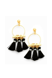 Wild Lilies Jewelry  Tassel Hoop Earrings - Product Mini Image
