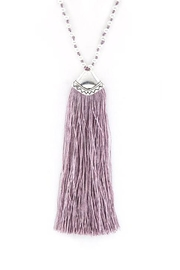 Wild Lilies Jewelry  Tassel Pendant Necklace - Product Mini Image