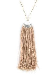 Wild Lilies Jewelry  Tassel Pendant Necklace - Front cropped