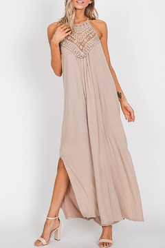 Wild Lilies Jewelry  Taupe Maxi Dress - Product List Image