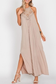Wild Lilies Jewelry  Taupe Maxi Dress - Product Mini Image