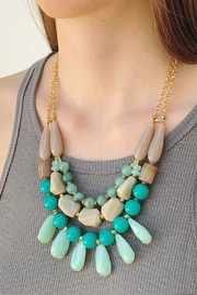 Wild Lilies Jewelry  Teal Beaded Necklace - Product Mini Image