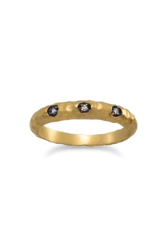 Shoptiques Product: Textured Band Ring