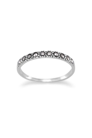Wild Lilies Jewelry  Thin Marcasite Band - Product Mini Image