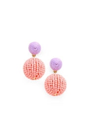 Wild Lilies Jewelry  Thread Ball Earrings - Product Mini Image