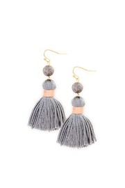 Wild Lilies Jewelry  Thread Tassel Earrings - Product Mini Image