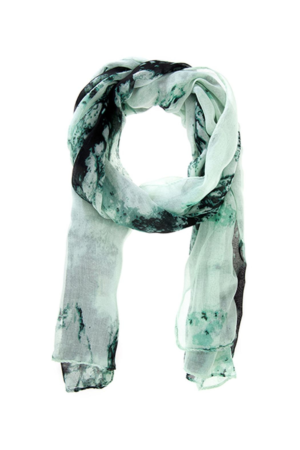 Wild Lilies Jewelry  Tie Dye Scarf - Front Cropped Image