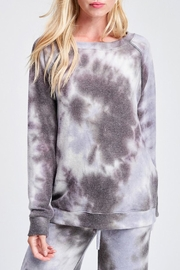 Wild Lilies Jewelry  Tie Dye Sweater - Front cropped