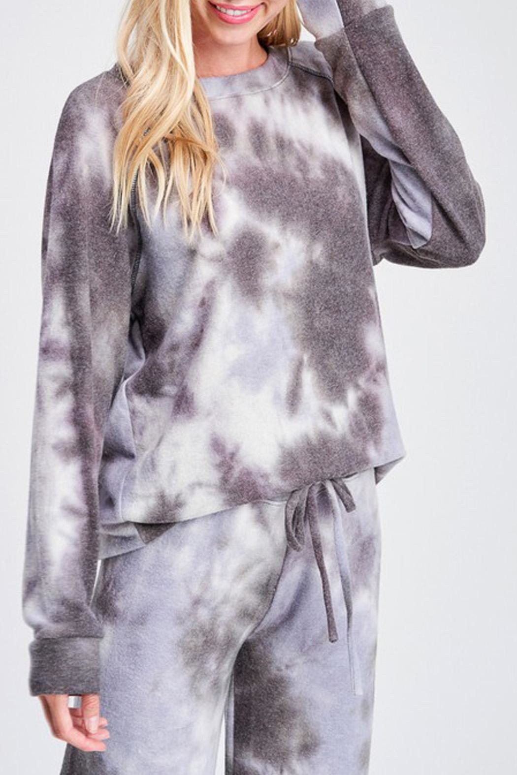 Wild Lilies Jewelry  Tie Dye Sweater - Side Cropped Image