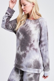 Wild Lilies Jewelry  Tie Dye Sweater - Front full body