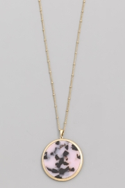 Wild Lilies Jewelry  Tortoise Disc Necklace - Product Mini Image