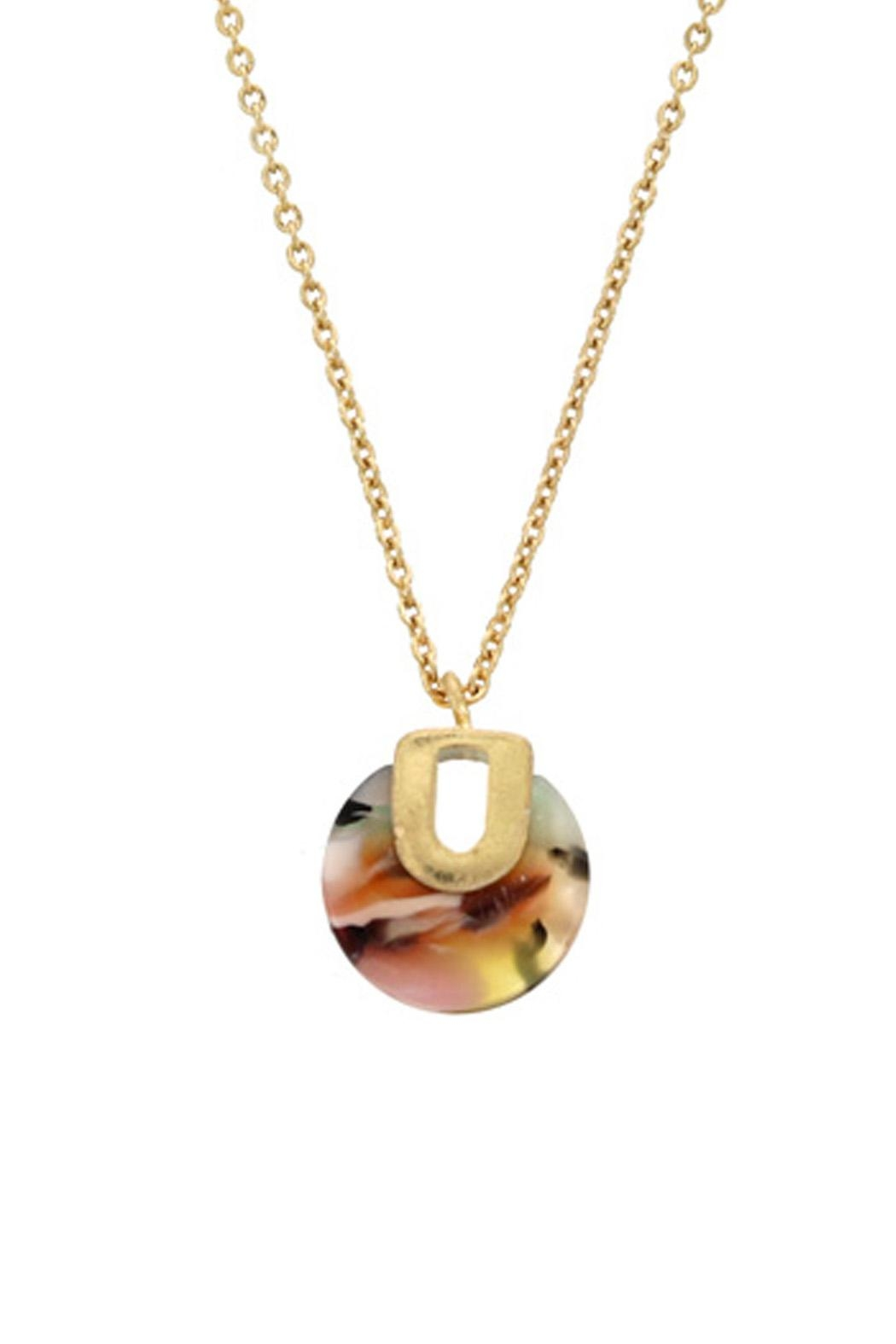 Wild Lilies Jewelry  Tortoise Pendant Necklace - Main Image