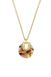 Wild Lilies Jewelry  Tortoise Pendant Necklace - Front cropped